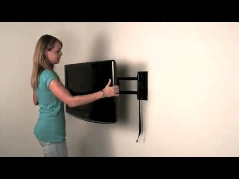 MoView Flat Screen TV Wall Mount Bracket with Locking