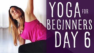 20 Minute Yoga For Beginners 30 Day Challenge Day 6 With Fightmaster Yoga