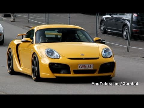 Porsche Cayman Techart GT Widebody!! 1080p HD