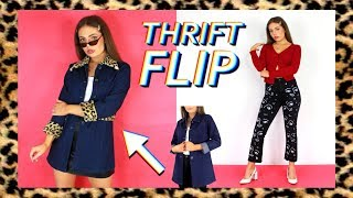 THRIFT FLIP! Clothing DIY Ideas To Try