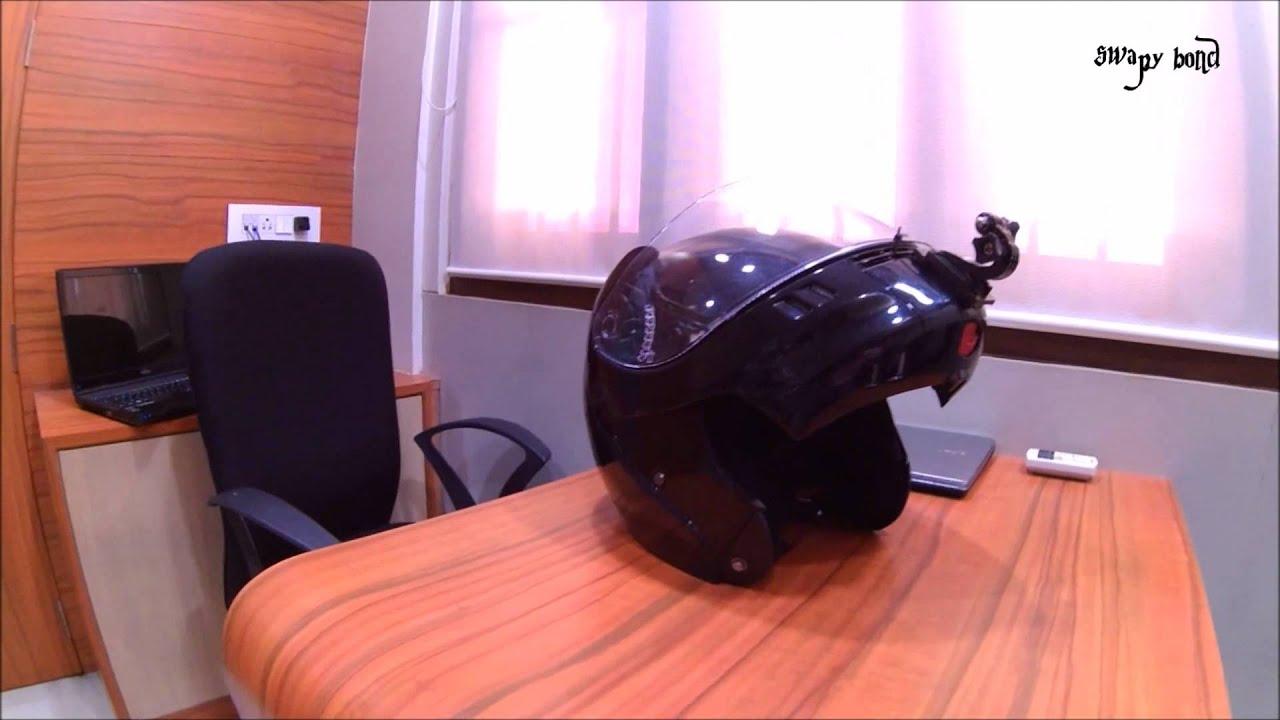 Studds Shifter Helmet Review Youtube: Studds Ninja 3G Helmet