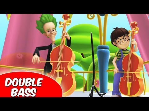Double Bass  Alex and the Music in Hindi  Ep11  Fun & Learning s  Cartoon for Kids 2016
