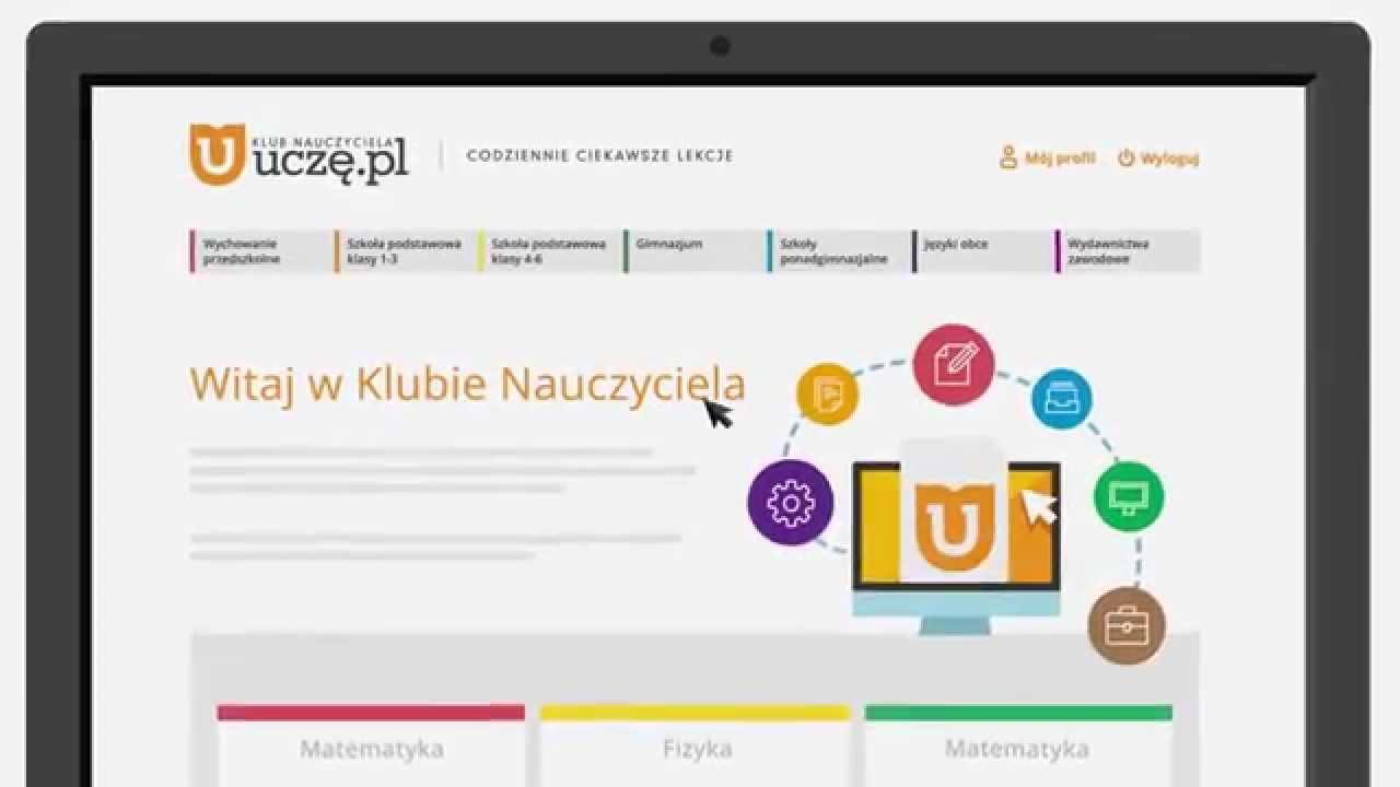Modne ubrania Uczę.pl – Klub Nauczyciela WSiP - YouTube VF44