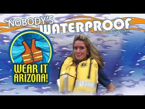 Life Jackets  are cool - Wear it Arizona