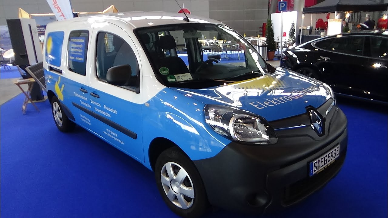 2016 renault kangoo ze exterior and interior i. Black Bedroom Furniture Sets. Home Design Ideas