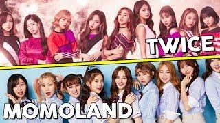 TWICE VS MOMOLAND (VOCAL,DANCE,RAP AND MORE)