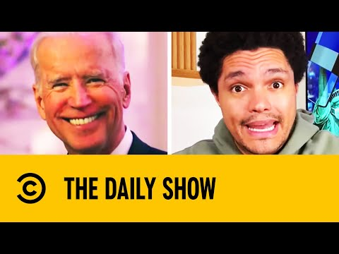 Controversial Biden Post Blocked By Twitter & Facebook | The Daily Show With Trevor Noah