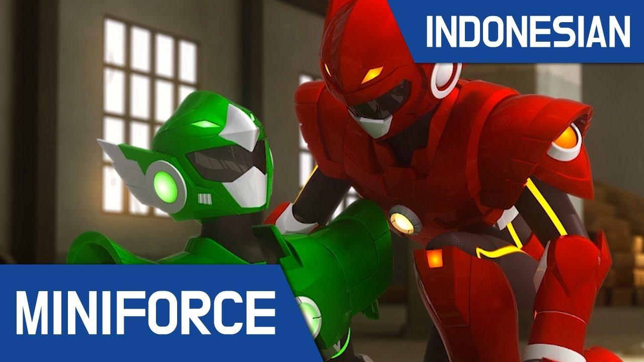 [Indonesian Dub ] MiniForce S1 EP 21 Saingan Yang Sudah Ditakdirkan