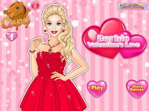 barbie valentine dress up games - youtube, Ideas