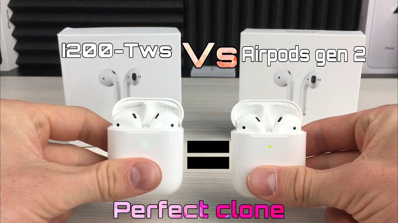 I200 Tws Vs Airpods Gen 2 Perfect Clone Youtube