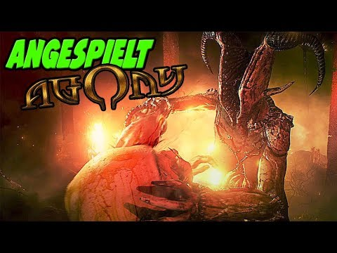 Ab in die Hölle! AGONY PC GAMEPLAY