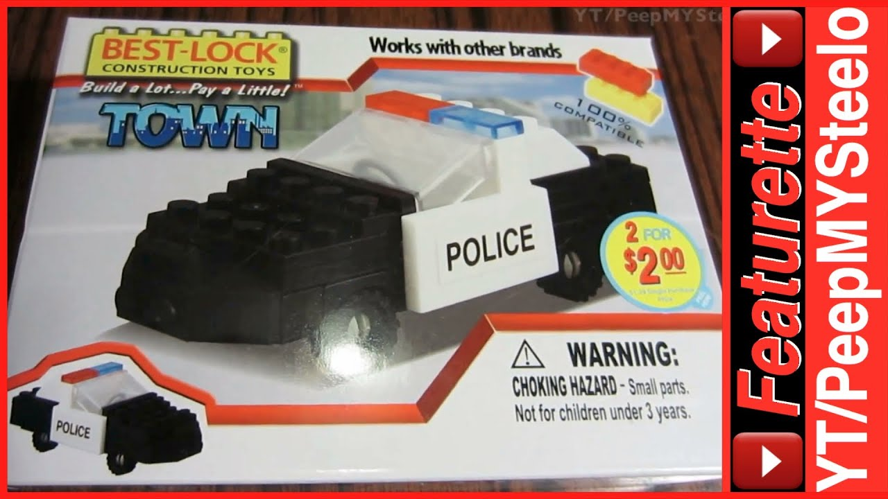 Lego Police Car Toys Compatible Blocks Set by Best Lock ...
