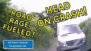 UK Dash Cameras - Compilation 34 - 2018 Bad Drivers, Crashes + Close Calls
