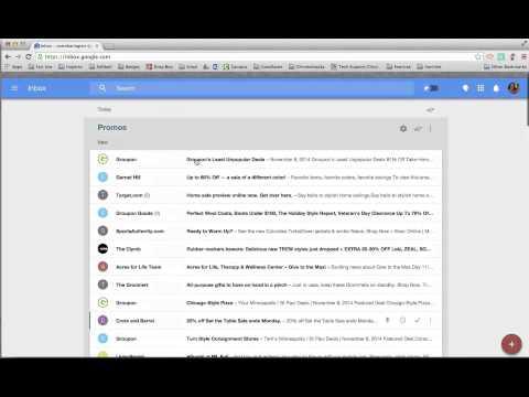 Deleting Mail in Google Inbox