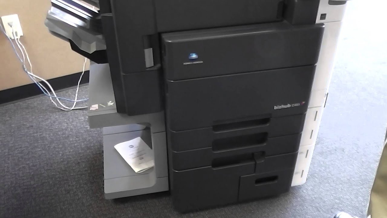 Sold Used Konica Minolta C451 Bizhub Copier Printer Scanner on eBay