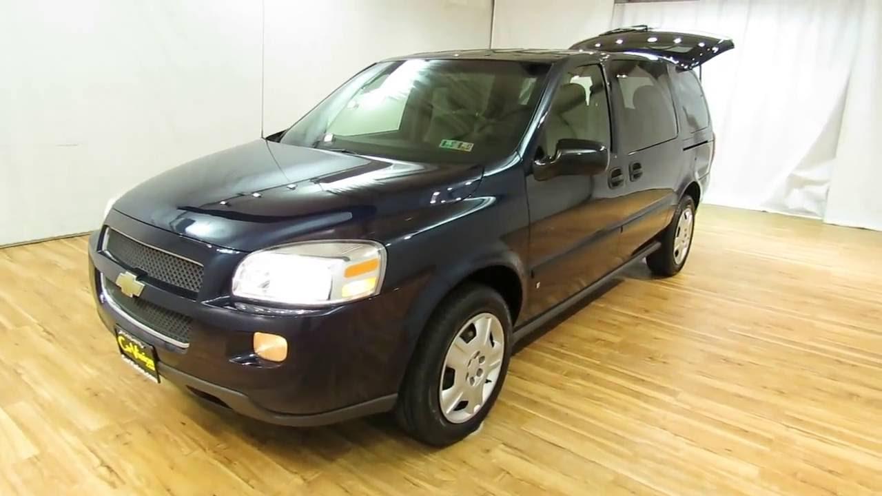 All Chevy 2000 chevy uplander : 2007 Chevrolet Uplander LS Fleet @CARVISION.COM - YouTube