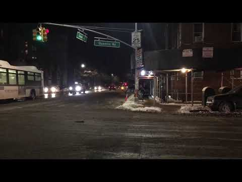 Extreme weather in Brooklyn NYC