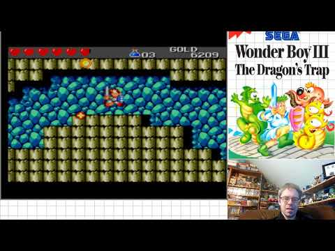 Wonder Boy III The Dragon's Trap (SMS) Part 4 - Lion-Man |