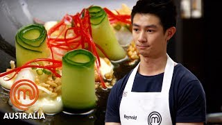 Reynold Poernomo's Butter Poached Prawns With Lime Aioli | MasterChef Australia | MasterChef World