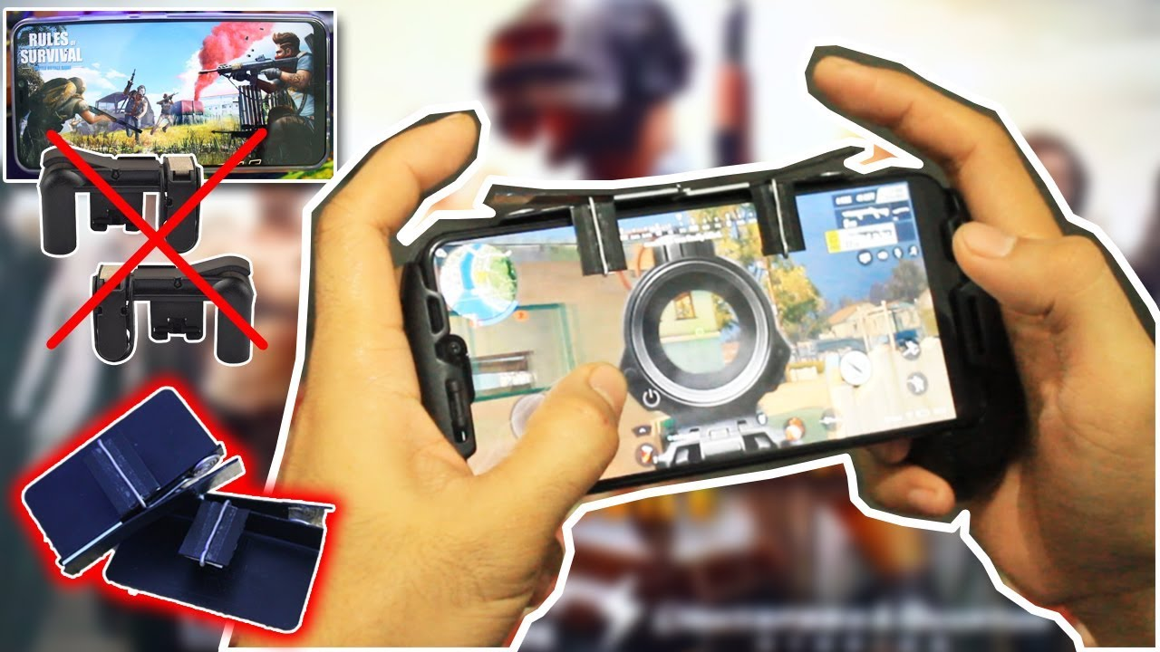 L1r1 Sharpshooter Diy Pubg Mobile Ros Modified Controller L1 R1 Sharp Shooter Joystick Rule Of Survival Versi 3