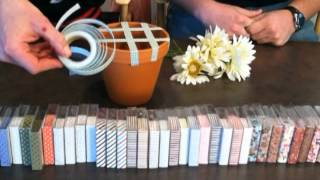 fabric tape and artbin demonstration