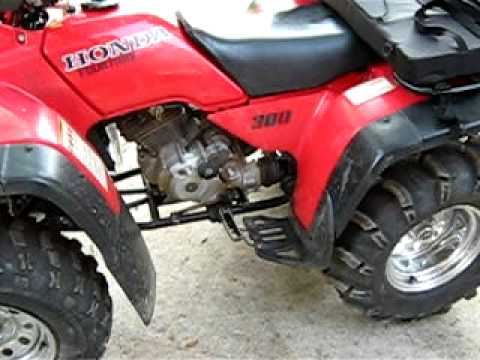 Exceptional 1998 HONDA FOURTRAX 300 HEAD REPLACED   YouTube