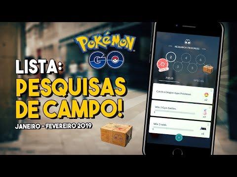 MISSÕES DE JANEIRO, LENDÁRIOS SHINY E BUGS! | Pokémon GO thumbnail