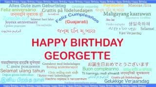 Georgette   Languages Idiomas - Happy Birthday