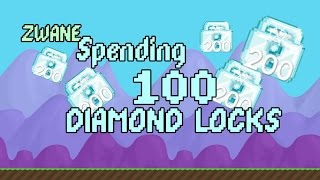 Growtopia | Wasting 100 Diamond Locks