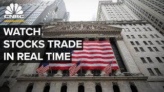 Watch stocks trade in real time amid market volatility– 4/2/2020