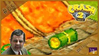 CRASH BANDICOOT 2: N. TRANCED #03   O barril mais detalhado dos games! -sqn