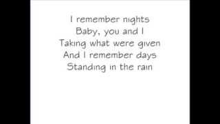 The World We Knew- Daughtry(WithLyrics)