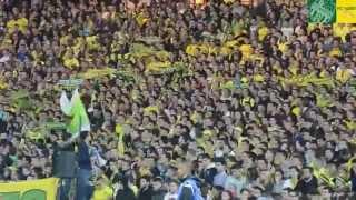 FC Nantes - Vidéo Ambiance tribune loire