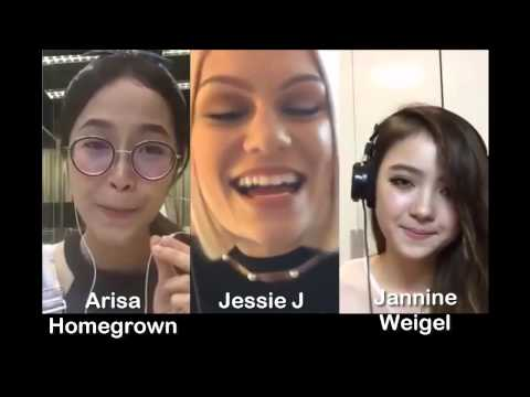 Flashlight - Jessie J & Arisa & Jannine Weigel (Smule Sing! Karaoke App)