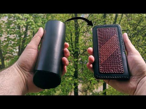 Как сшить чехол для телефона из кожи своими руками