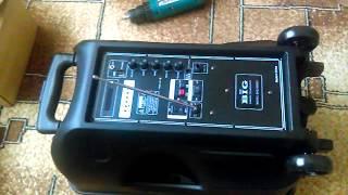 Мобильная автономная колонка BIG 250BAT bluetooth/MP3 /FM Разбираем Внутри ?