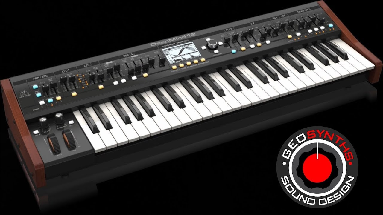 Behringer DeepMind 12 - Deeper Vol 2 - Patches 1 to 30 - GEOSynths com