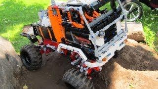 Лего Технік 9398 трак-тріалу краулер 4х4 - Б-модель