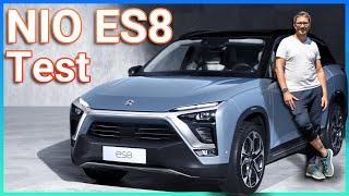 NIO ES8 Elektro-SUV aus China - Nie wieder aufladen!
