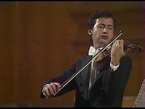 Vladimir Spivakov plays Ysaye, Franck, Bartok, Gershwin, Debussy - video 1980