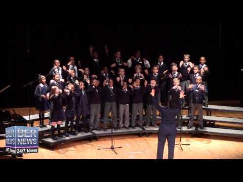 Port Royal Primary School Choir, February 13 2015