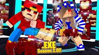 Minecraft .EXE 2.0 - ROPO .EXE & CARLY .EXE DEFEAT & INFECT IRON-MAN!!
