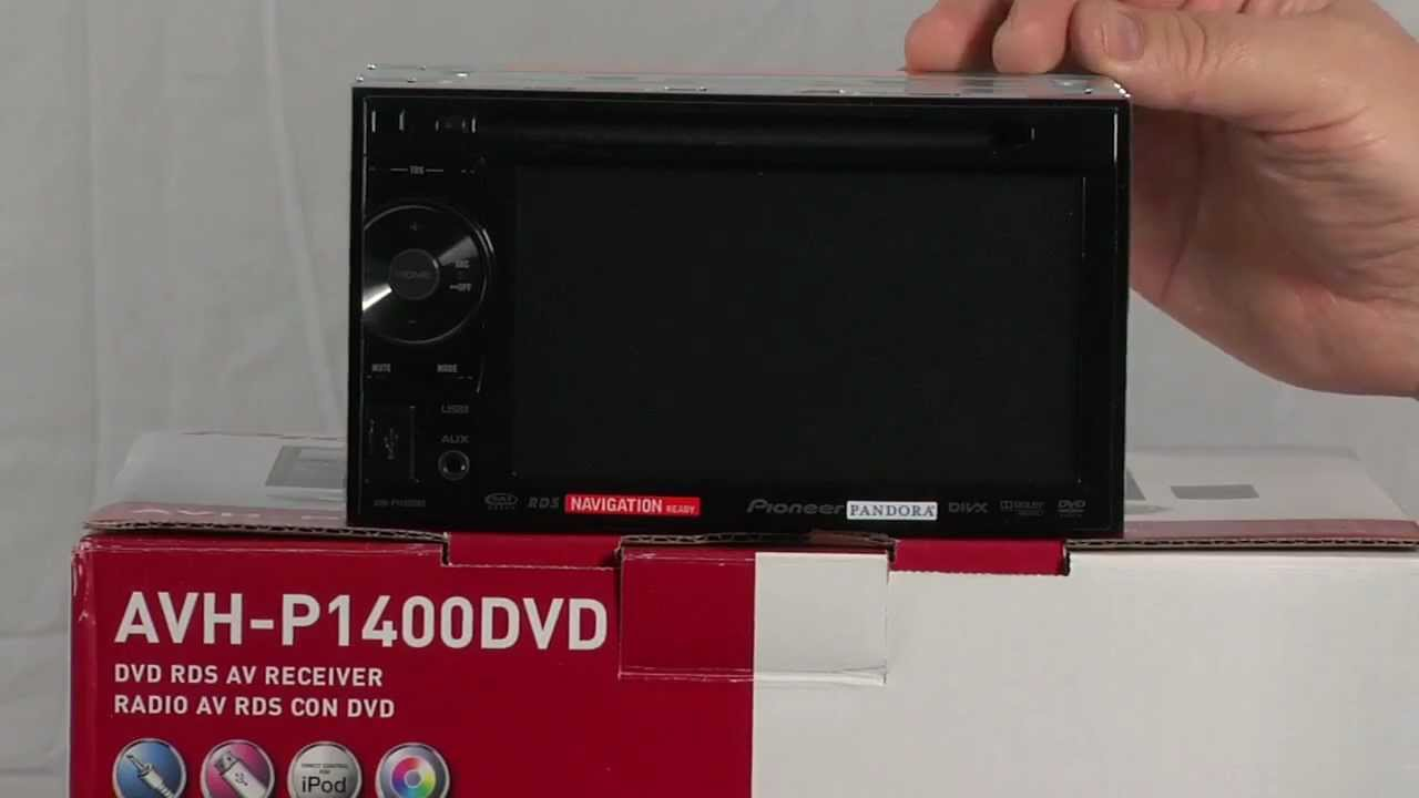 AVH-P1400DVD - 2-DIN Multimedia DVD Receiver with 5.8 ... on
