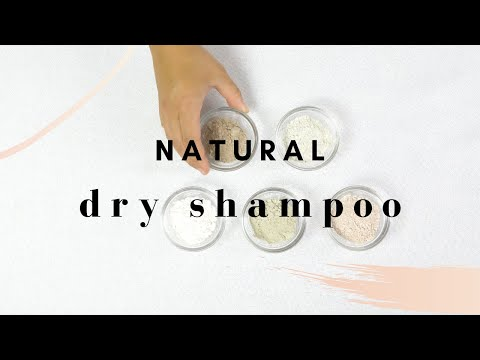 How to Make Natural DRY SHAMPOO (Talc Free Recipe)