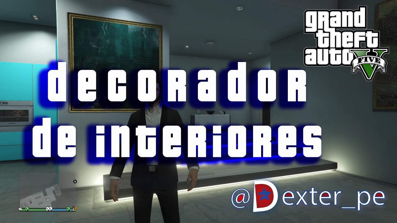 Gta v online ps4 decorador de interiores gameplay en for Decorador de interiores