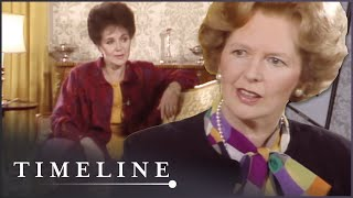Margaret Thatcher: Woman to Woman with Miriam Stoppard (Political History Documentary) | Timeline