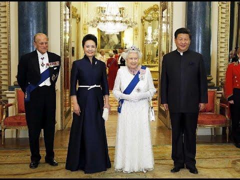 Reina Isabel Ii Ofrece Banquete A Presidente Chino En