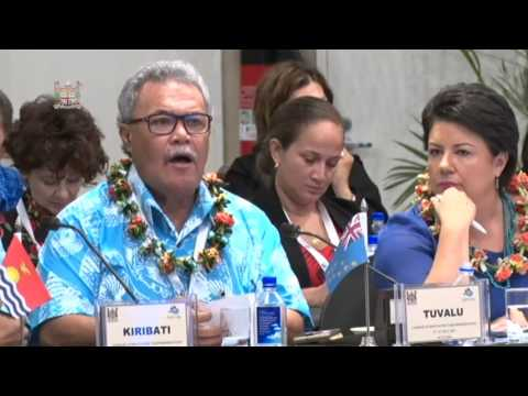 Leaders' response by the Prime Minister of Tuvalu