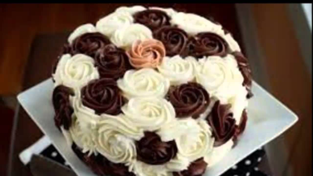 Торт Украшение тортов - YouTube