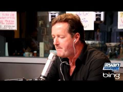 "Piers Morgan Sings Lady Gaga's ""Poker Face"" 